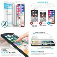 For Iphone X Screen Protector, Maxboost Clear 3 Packs For IphoneX Tempered Glass
