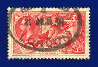 1934 SG451 5s Bright Rose-Red N74 London 21 MCH 38 Good Used Cat £85 daou