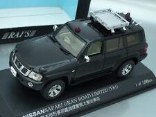1/43 Rai's NISSAN SAFARI GRAN ROAD LIMITED (Y61) UNMARKED POLICE 2005 (BLACK)