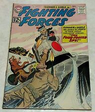 Our Fighting Forces 72, (VF 8.0) 1962, 40% off Guide!