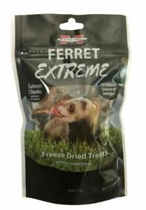 Marshall Ferret Extreme Salmon Chunks Freeze Dried Treats - .6 oz