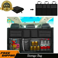 Universal Car Trunk Organizer Rear Back Seat Storage Holder Bag Net Pocket K5E6