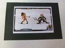 Playmates Star Trek Original Action Figure Artwork Starfleet Defenders Uhura & N