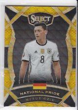 2016-17 Panini Select #23 Mesut Ozil National Pride Gold Prizms 5/10 Germany