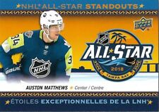 Auston Matthews #AS-4 - 2018-19 Tim Hortons - NHL All-Star Standouts