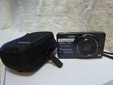 Sony Cyber-shot DSC-W690 16.1MP Digital Camera – Black &  Case
