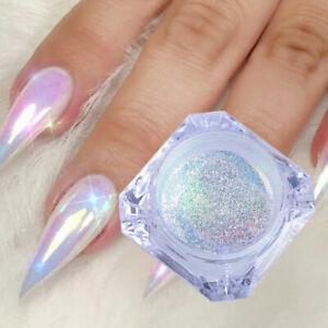 BORN PRETTY Neon Nail Art Glitter Powder Mirror Decors Chrome Pigment DIY