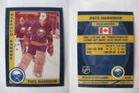 2015 SCA Paul Harrison Buffalo Sabres goalie never issued produced #d/10