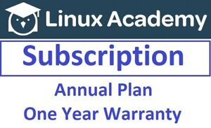 Linux Academy Premium Subscription 12 Months (Annual Plan - One Year Warranty)