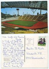 19918 - Olympiastadion München - Ansichtskarte, gelaufen 12.8.1981