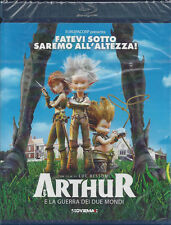 Blu-ray **ARTHUR E LA GUERRA DEI DUE MONDI** di Luc Besson nuovo 2011