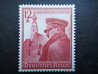 Germany Nazi 1939 Stamp MNH Adolf Hitler in Braunau 50th birthday WWII Third Rei