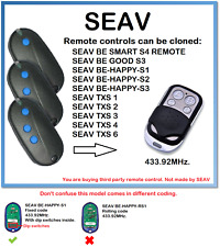 SEAV BE-HAPPY-S1, S2, S3 Remote Control Duplicator 4-Channel 433.92MHz.