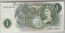 1970-1978 J.B.Page Miscut Left & Right Edge £1 One Pound Note | Pennies2Pounds