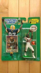2000 Peter Warrick SLU Cincinnati Bengals White Uniform Starting Lineup NFL NIP