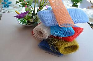 Wedding Millinery Netting Veiling Birdcage Veil Hat Trimming Fascinator Make own