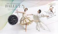 2012 50c Unc Coin The Australian Ballet 50 Years, PNC RAM