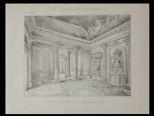 PARIS, MAISON ANTOINE CALLET, HOTEL CARIATIDES - PLANCHE 1892 - MONTPARNASSE