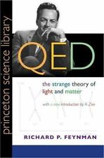 QED The Strange Theory of Light and Matter by Richard Feynman (2006, Paperback)