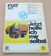 FIAT 127 Motor Bremsen Kupplung Getriebe Vergaser Reparaturanleitung JHIMS 42