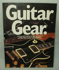 Guitar Gear From Guitar Player Magazine Edited by John Brosh Fast Free Shipping