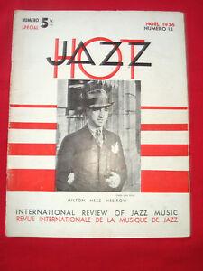 MUSIQUE JAZZ HOT 1936 N° 13