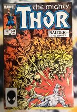 THE MIGHTY THOR #344 (1984) 1st Malekith the Accursed - Marvel Comics