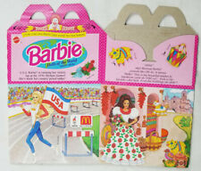 McDonalds 1995 Mattel Barbie Dolls of the World Happy Meal Box