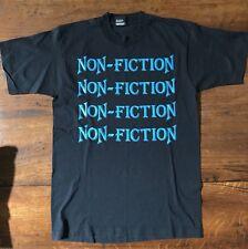 Vintage Non Fiction Tour Shirt Heavy Metal Hades L'Amour