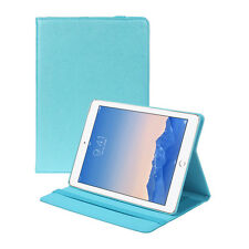 King of Flash Blue Apple iPad Air 2 Drawsting Card Slots Standing Case Cover