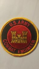 Us Army Combat Engineer Rare embroidered patch