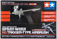 Tamiya 74540 SPRAY-WORK HG Trigger-Type Airbrush w/Integrated Cup (0.3mm Nozzle)