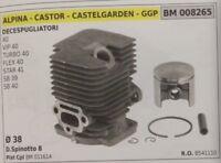 8541110 CILINDRO PISTONE COMPLETO DECESPUGLIATORE CASTOR ALPINA STAR 41 SB 39 40