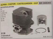 8541110 PISTON CYLINDER COMPLETE TRIMMER CASTELGARDEN 40 VIP TURBO FLEX