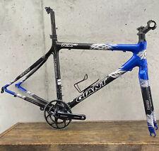 Giant  Frame Set 50cm 53cm CARBON Fiber TCR  C2 Aero Road Bike Blue