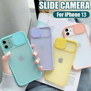 Fr iPhone 13 Pro Max Case Shockproof Matt Clear Lens Camera Protector Slim Cover
