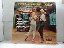 "THE JONAH JONES QUARTET -(LP)- SWINGIN' AT THE CINEMA - ""FASCINATION"" MONO- 1958"