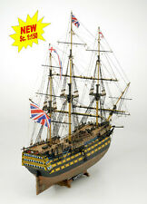"Intricate, Authentic Wooden Model Ship Kit by Mamoli: the ""HMS Victory"""