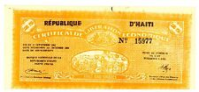 Haiti  ... P-503 ... 25 Gourde ... 1962 ... (~)*UNC*