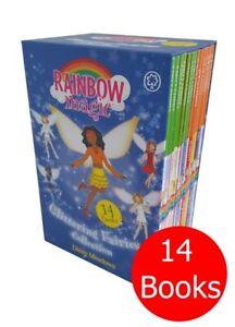 Rainbow Magic Glittering Fairies 14 Books Collection Set   NEW