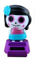 Halloween Day of The Dead Sugar Skull Bobblehead Toys Halloween Themed Novelty