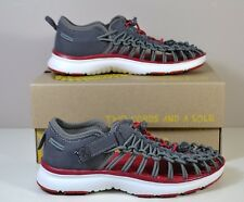 Nwt Boys Youth Keen Uneek 02 Magnet Tango Red Elastic Cords Water Sandals 9C-2Y
