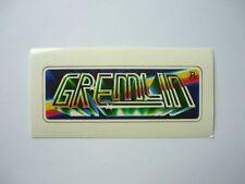 NUOVO Originale Gremlin Video Games ADESIVI Commodore 64 c-64 video gioco Sticker