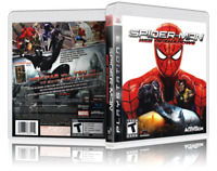 Spider-Man: Web of Shadows - Replacement  PS3 Cover and Case. NO GAME!!