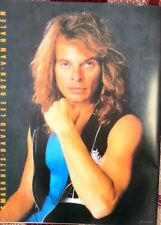 More details for dave lee roth (van halen) 'in blue' magazine photo/poster/clipping 11x8 inches