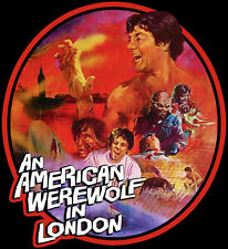 80's Horror Classic An American Werewolf in London Poster Art custom tee AnySize