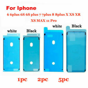 Frame Bezel Seal Tape Water Resistant Adhesive iPhone 6s 7 8 Plus  X XS XR Max