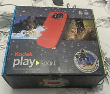 WORKING Kodak PlaySport Zx5 Camcorder - Red - Used
