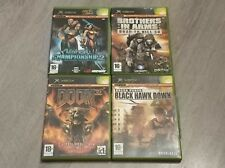 Black Hawk Down-Doom 3 L.R.M-Brother in Arms-Unreal Championship Xbox Pal España