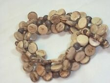 Tribal Bracelet Stretchy Bangle in Woody No Brand